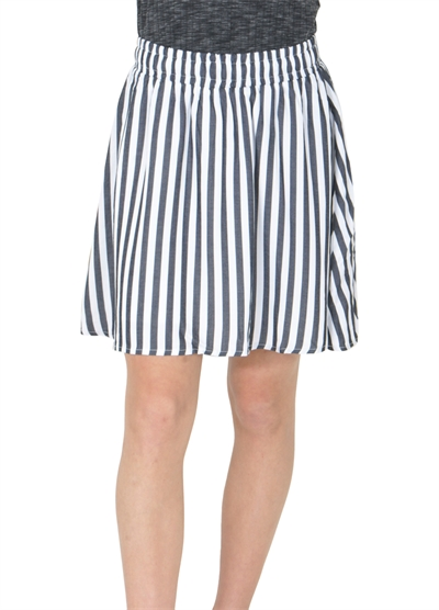LMTD Girls Nederdel Himona Sky Captain Stripe