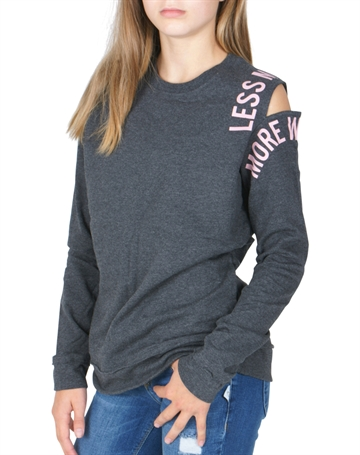 LMTD Girls Foline sweatshirt grey
