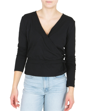 LMTD Girls Short Top Nunne Black