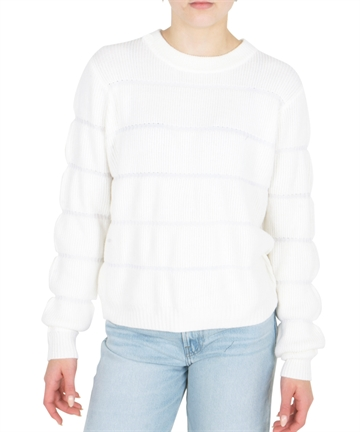 LMTD Sweater Girls NLFBEATE Short Knit Bright White