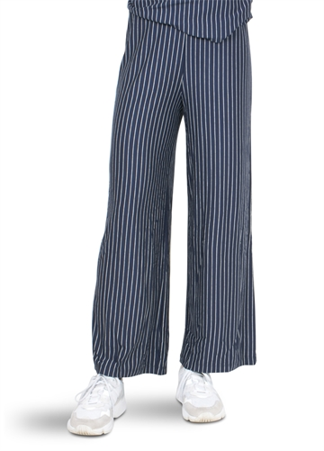 LMTD barbara wide pant strib sky captain