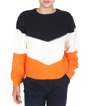 LMTD Girls NLFOMIA Loose Short Knit Sky Captain