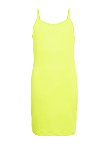 LMTD Hanne Strap Dress Safety Yellow