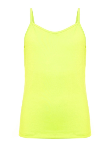 LMTD Hanne Strap Top Safety Yellow