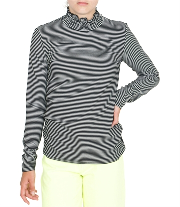 LMTD Girls Top Turtleneck NLFOLYMPIA Black Stripe