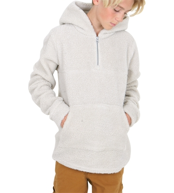 LMTD Fleece NLFNILSON 1/2 Zip Moonbeam