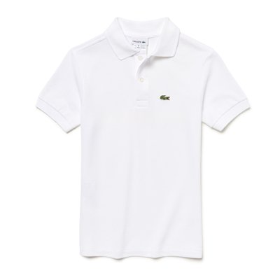 LACOSTE Polo hvid Classic
