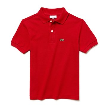 LACOSTE Polo rouge Classic