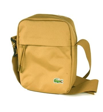 LACOSTE Vertical Camera Bag Khaki