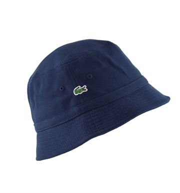 LACOSTE Bucket Hat RK4712 Navy Blue