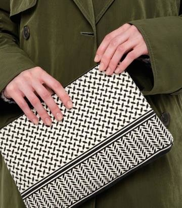 Lala Berlin Clutch Kufiya