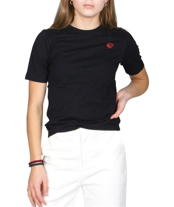 Lala Berlin T-shirt cara Lips Black