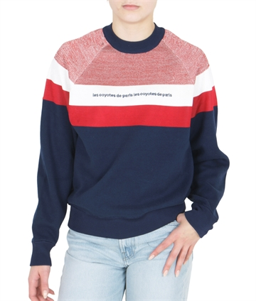 Les Coyotes pullover knitSweat Colour Block