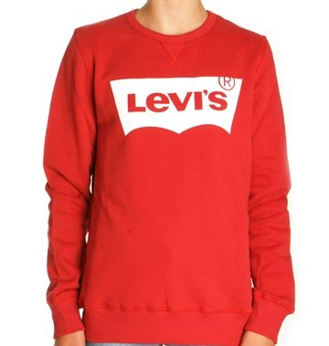 Levis Sweatshirt Crew N91500J Red