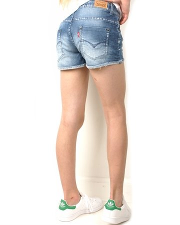 Levis Girls Shorts NH26537 Indigo
