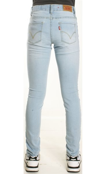 Levi´s pige jeans lys vask. High Rise Skinny Fit.