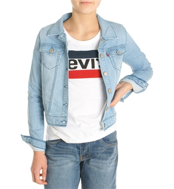 Levis Girls Jakke Trucker denim NL40527