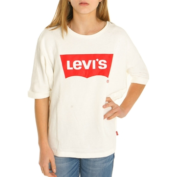 Levis Girls Sweat Battle Cloud Dancer NL15547