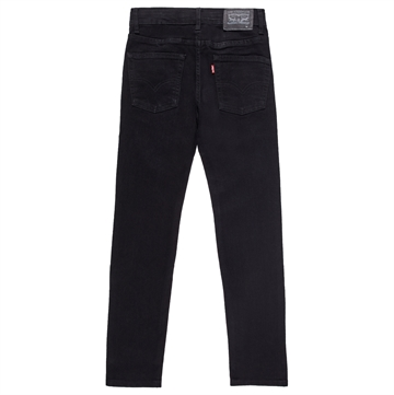 Levis Boys 502 Jeans Regular Taper Black