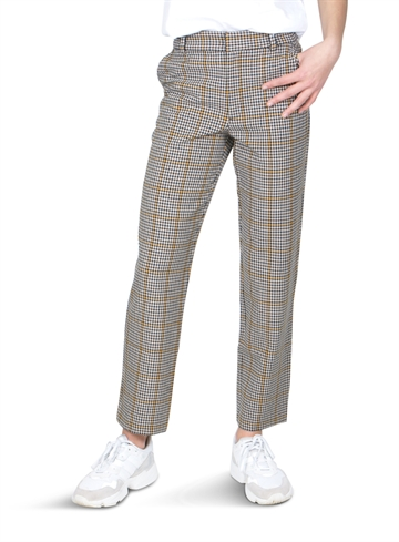 Little Remix Pants Babette Yellow Black Check