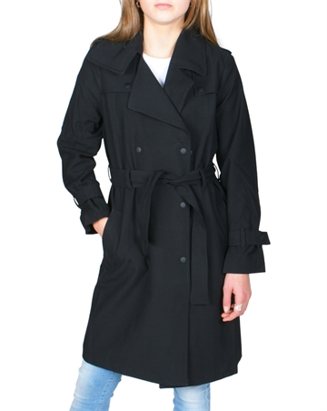 Little Remix Trench Babette Black