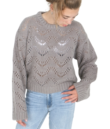 Little Remix Strik Sweater Vicki Wave Grey