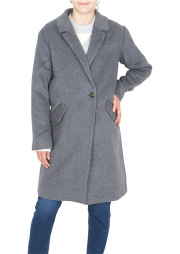 Little Remix Hardy Coat Dark Grey Melange