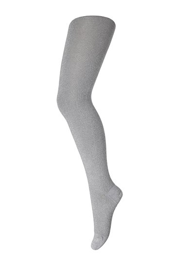 MP 385 Tights Cotton with Lurex col. 1331 silver glitter