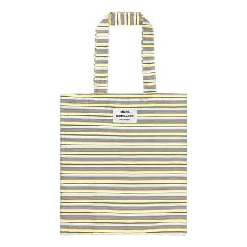 Mads Nørgaard Atoma Canvas Bag Pale Yellow