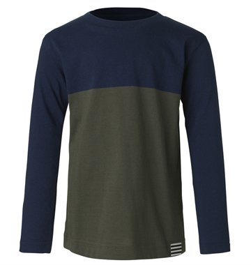 Mads Nørgaard Bluse Toldino Long Sky Captain / Riffle Green