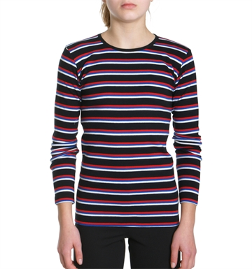Mads Nørgaard Bluse Soft Boutique Talino Black/Multi