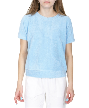 Mads Nørgaard Bluse Organic Terry Tuvilina Sky Blue