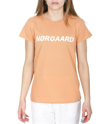 Mads Nørgaard Bluse Jersey Dip Tuvina Apricot