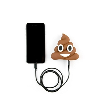 Mojipower Emoji Powerbank Poo