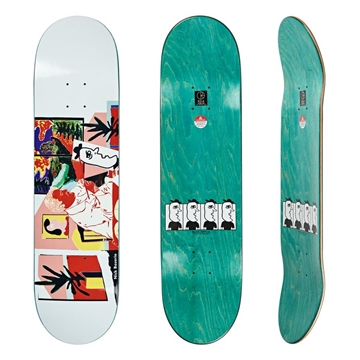 Polar Skate Co Board Nick Boserio The Artist Blue 8,5