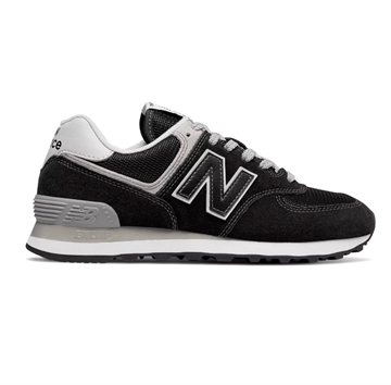 New Balance Sko 574 Black / White