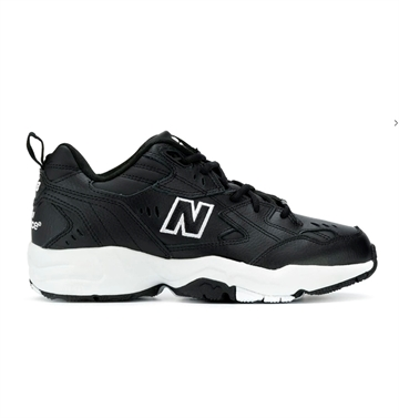 New Balance Sko 608 Black / White