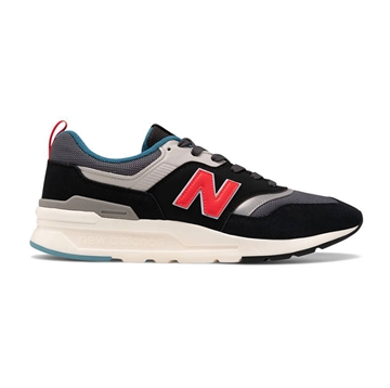 New Balance GR997HAI sneakers Black/energy red