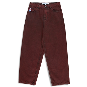 Polar Skate Co Big Boy Jeans Red Black