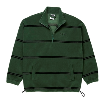 Polar Skate Co Striped Fleece Pullover Olive