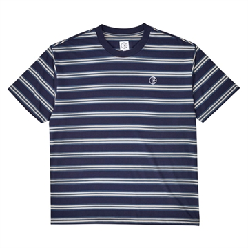 Polar Skate Co T-shirt Stripe Navy