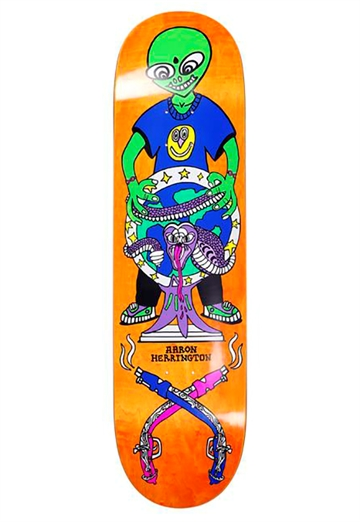 Polar Skate Co - Deck - Aaron Herrington Global Affairs 8,25