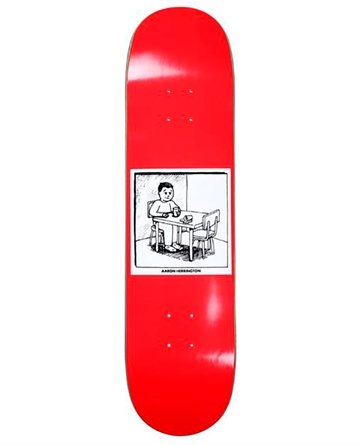 Polar Skate Co - Deck - Aaron Herrington Spilled Milk Red