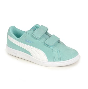 Puma sko Smash Fun Aruba Blue velcro