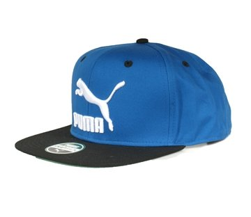 Puma cap blue colorblock snapback