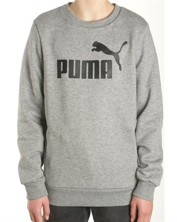 Puma Junior Crewneck sweatshirt grey - kun 249,-