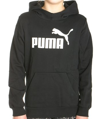 Puma Junior Hætte Sweatshirt Sort