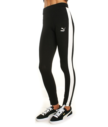 Puma Junior Pige leggings retro classic black