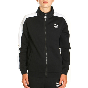 Puma Junior retro sweat cardigan sort
