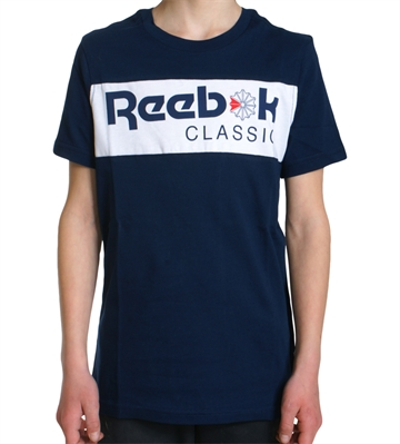 Reebok T-shirt Starcrest Navy White
